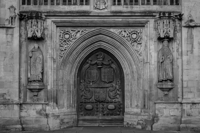 Bath Abbey Doorway