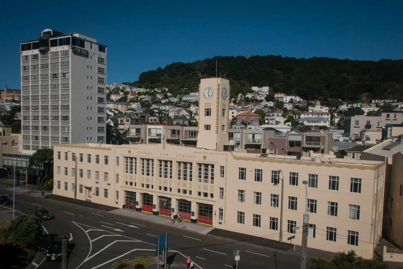 Central Fire Station Wellington