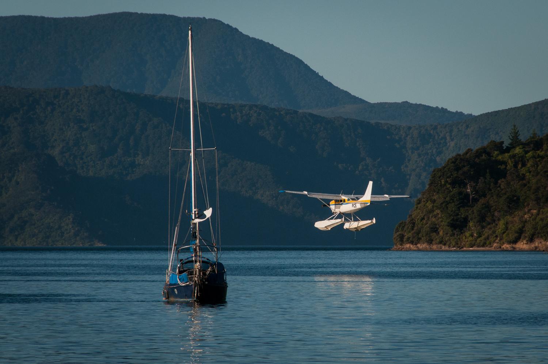 Sea plane at Picton Harbour