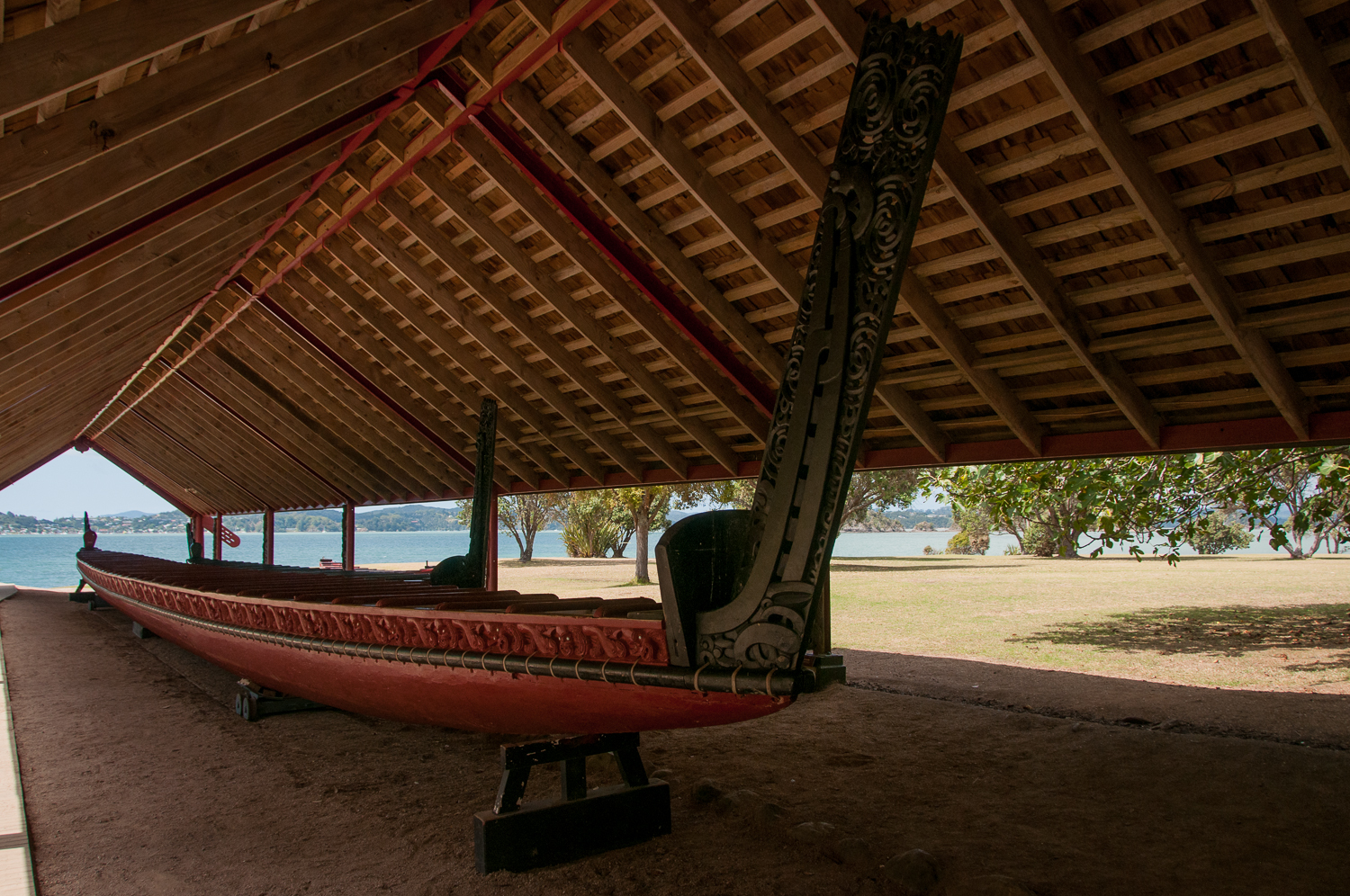 War Canoe at Waitangi