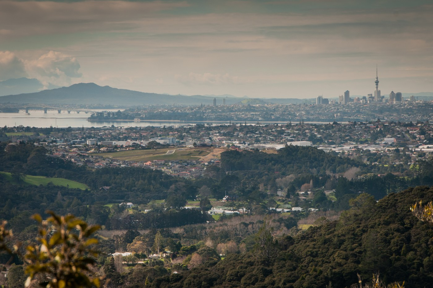 Auckland from Waitakere Ranges
