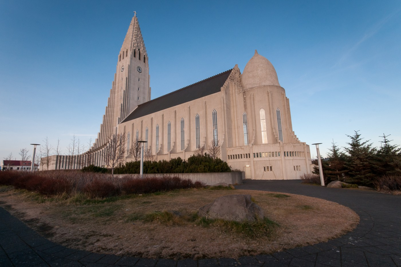 Hallgrimskirkja from the south side