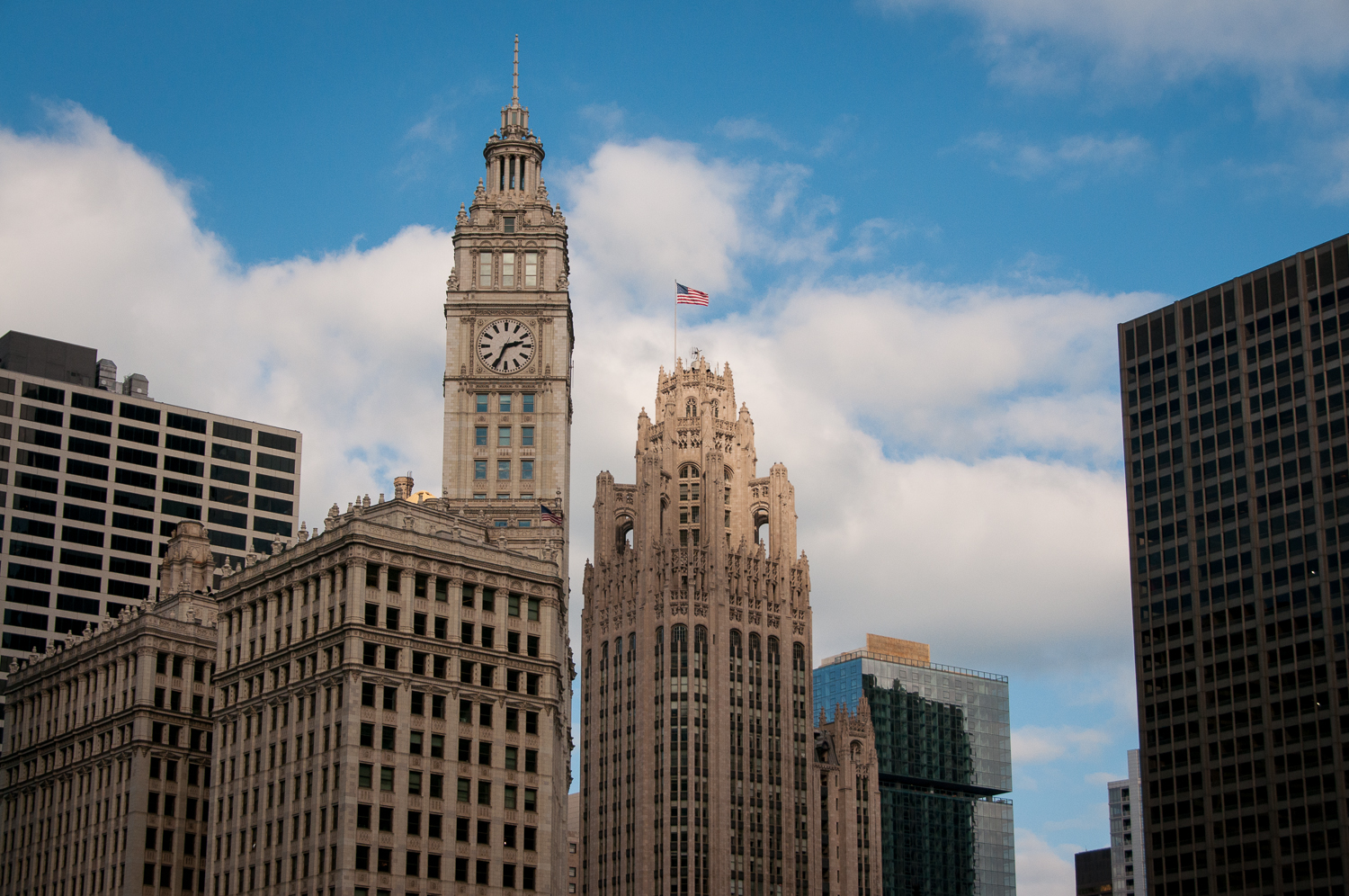 Wrigley Building and Tribune Tower