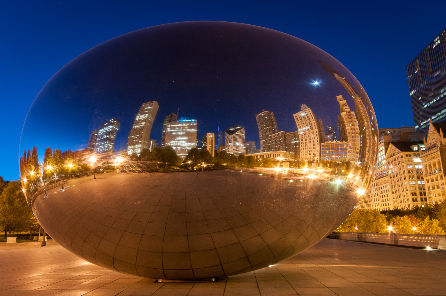 Cloud Gate reflections, Chicago