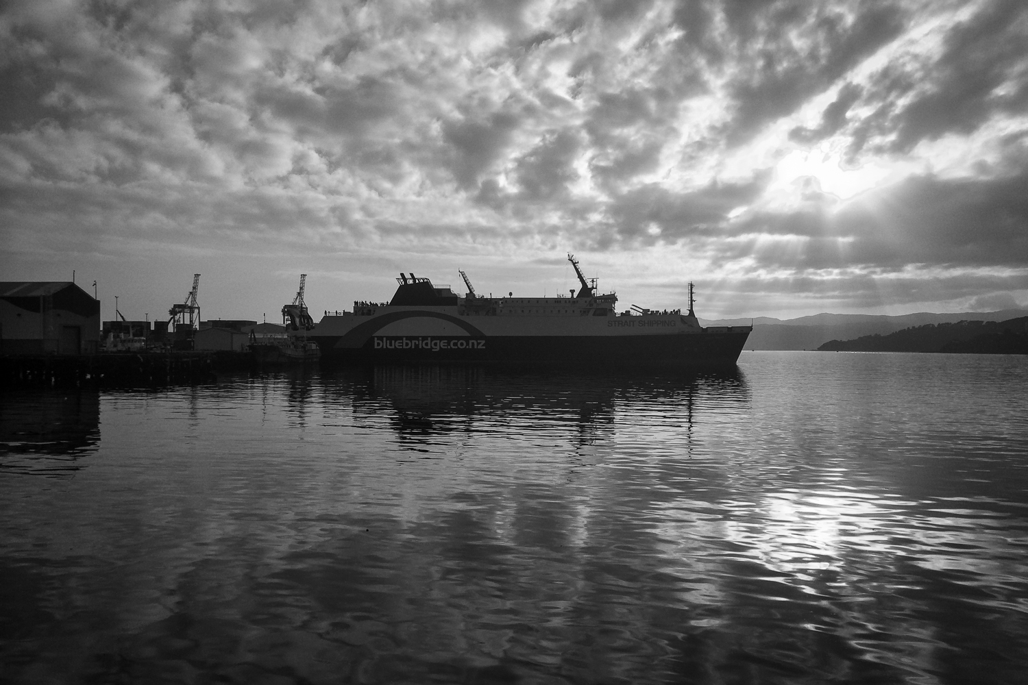 Ferry to the south island