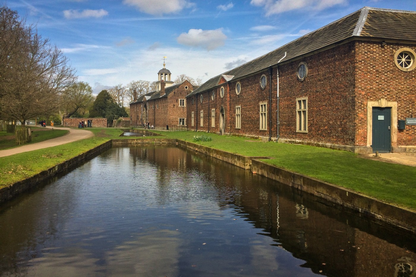 Dunham Massey stables and carriage hall