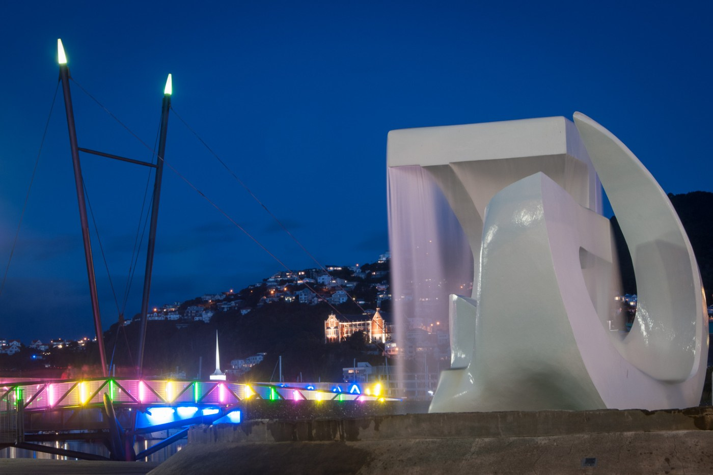 Wellington Waterfront Footbridge and Sculpture