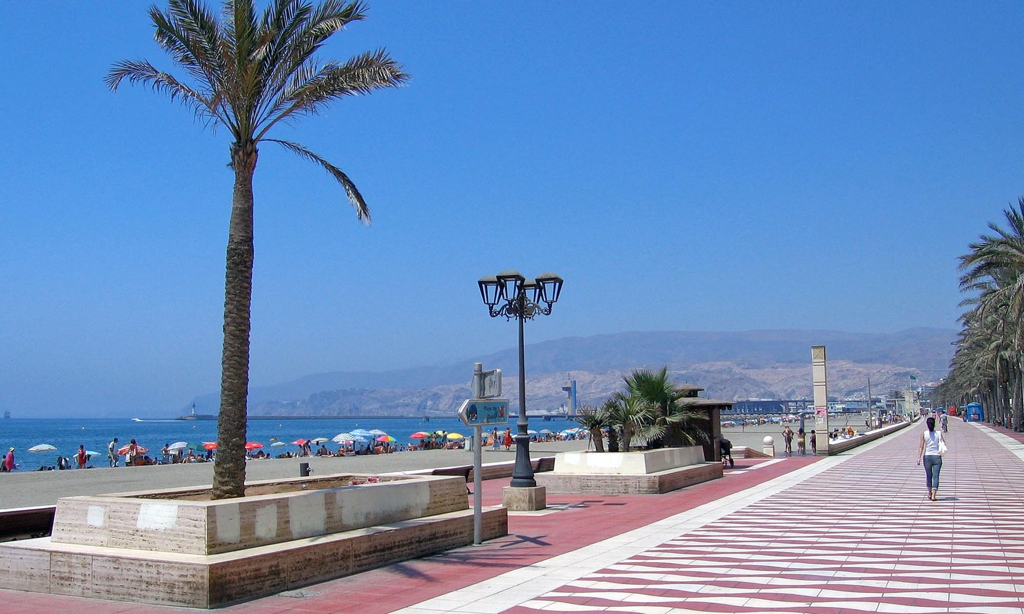 Almeria Beach Front, Spain