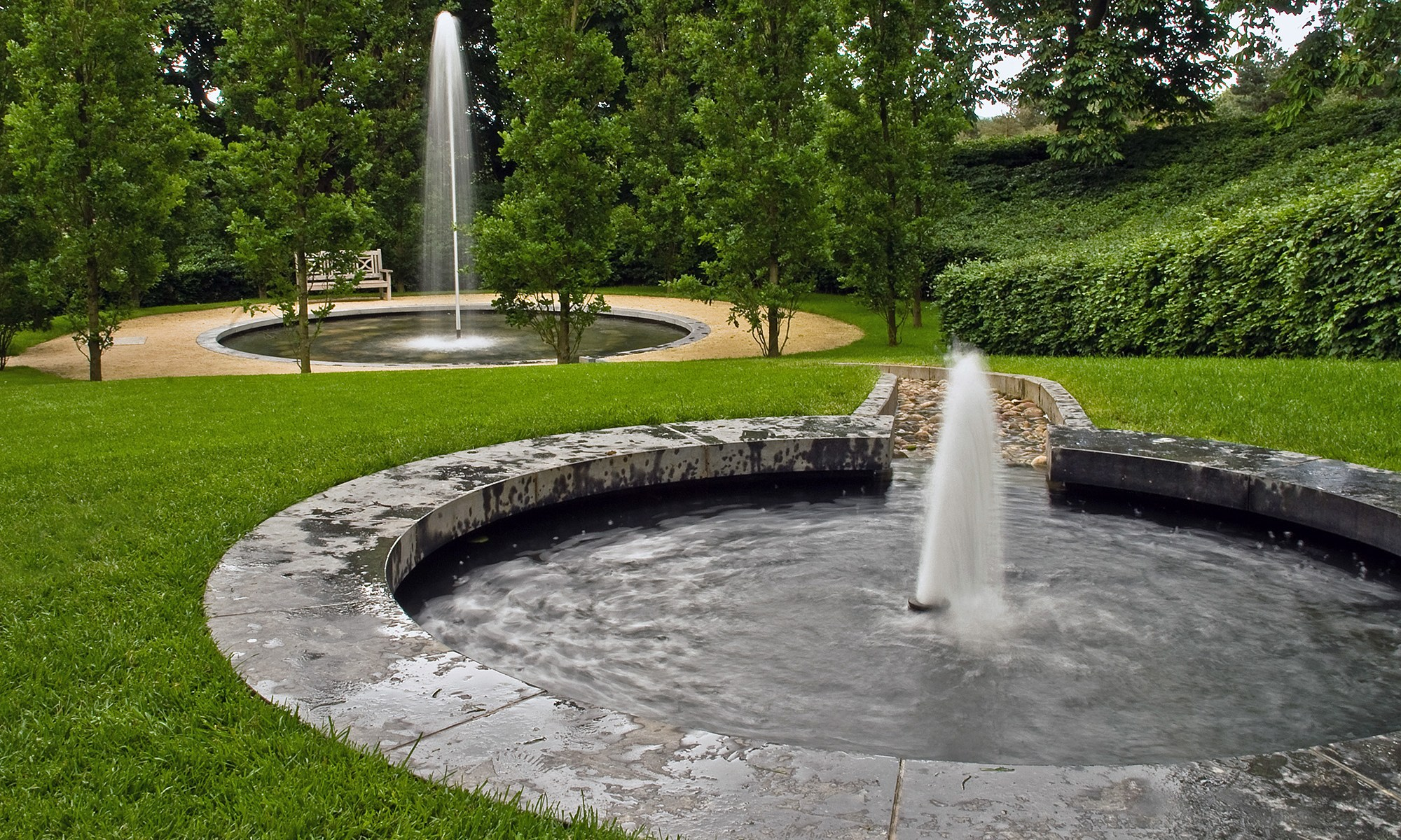 Alnwick Gardens Fountains, Northumberland