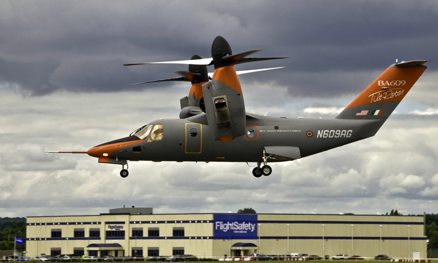 BA609 Tiltrotor Aircraft
