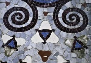 Barcelona Tiled Face Pattern