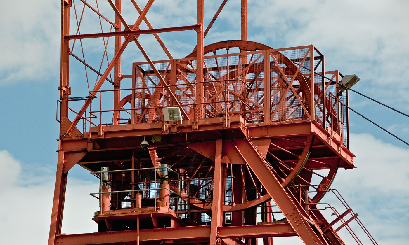 Big Pit Winding Tower, Wales