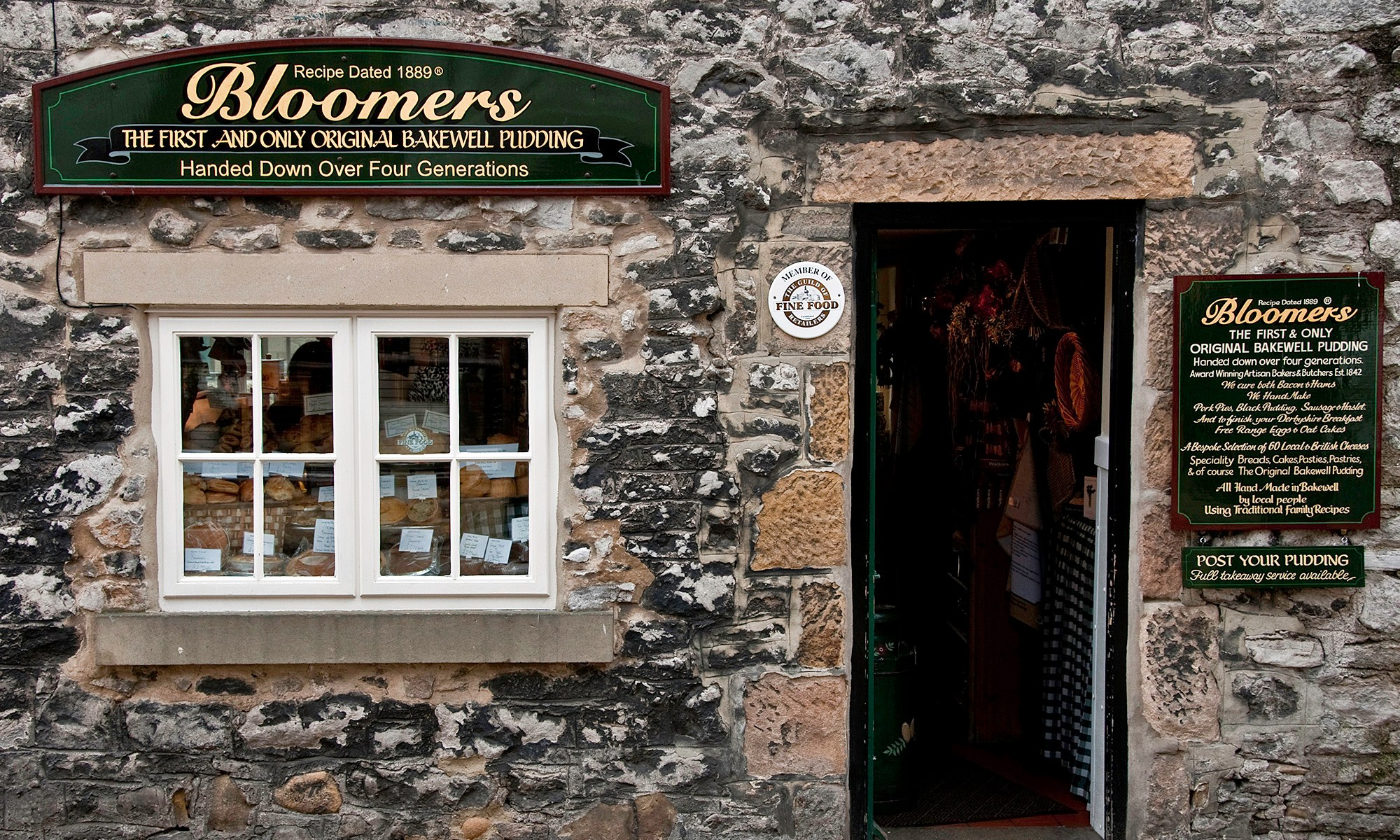 Bloomers Bakewell Pudding Shop