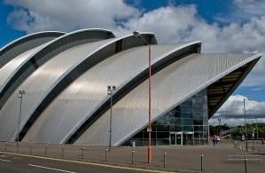 """Clyde Auditorium """"Armadillo"""" Building - Glasgow"""