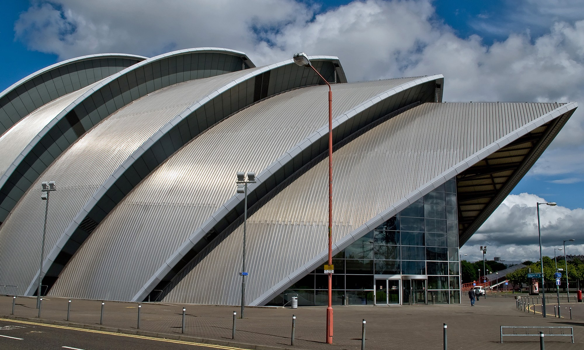 "Clyde Auditorium ""Armadillo"" Building - Glasgow"