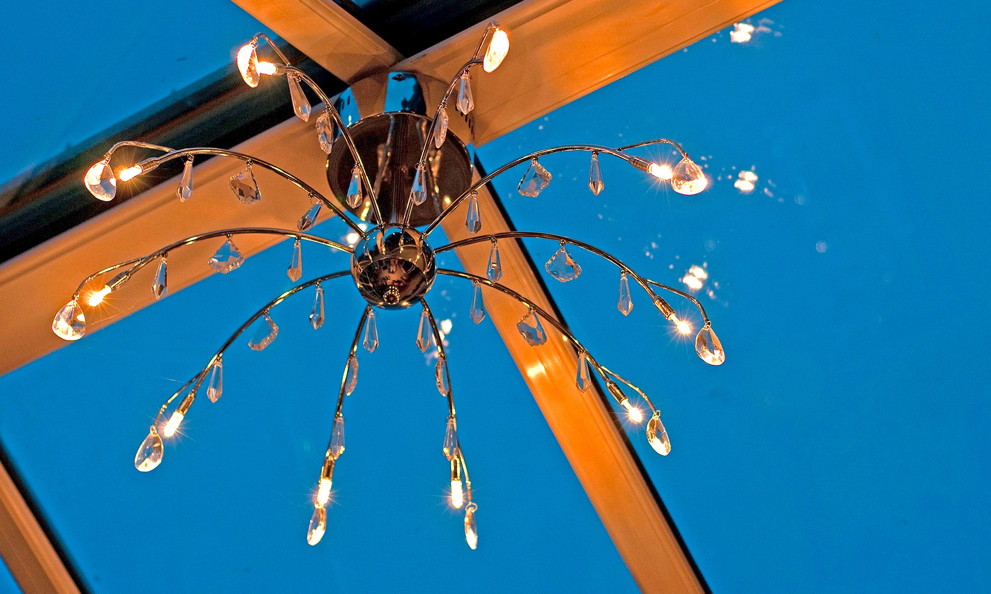 Conservatory Light Fitting Detail