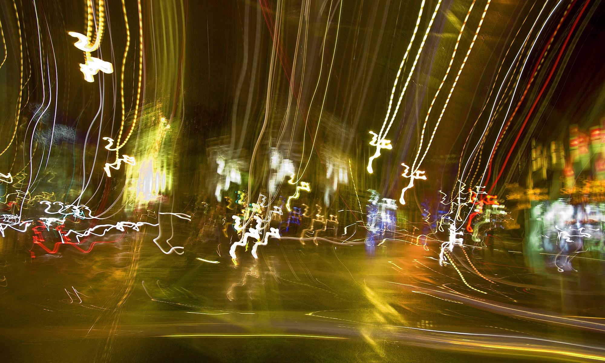 Deansgate Light Trails