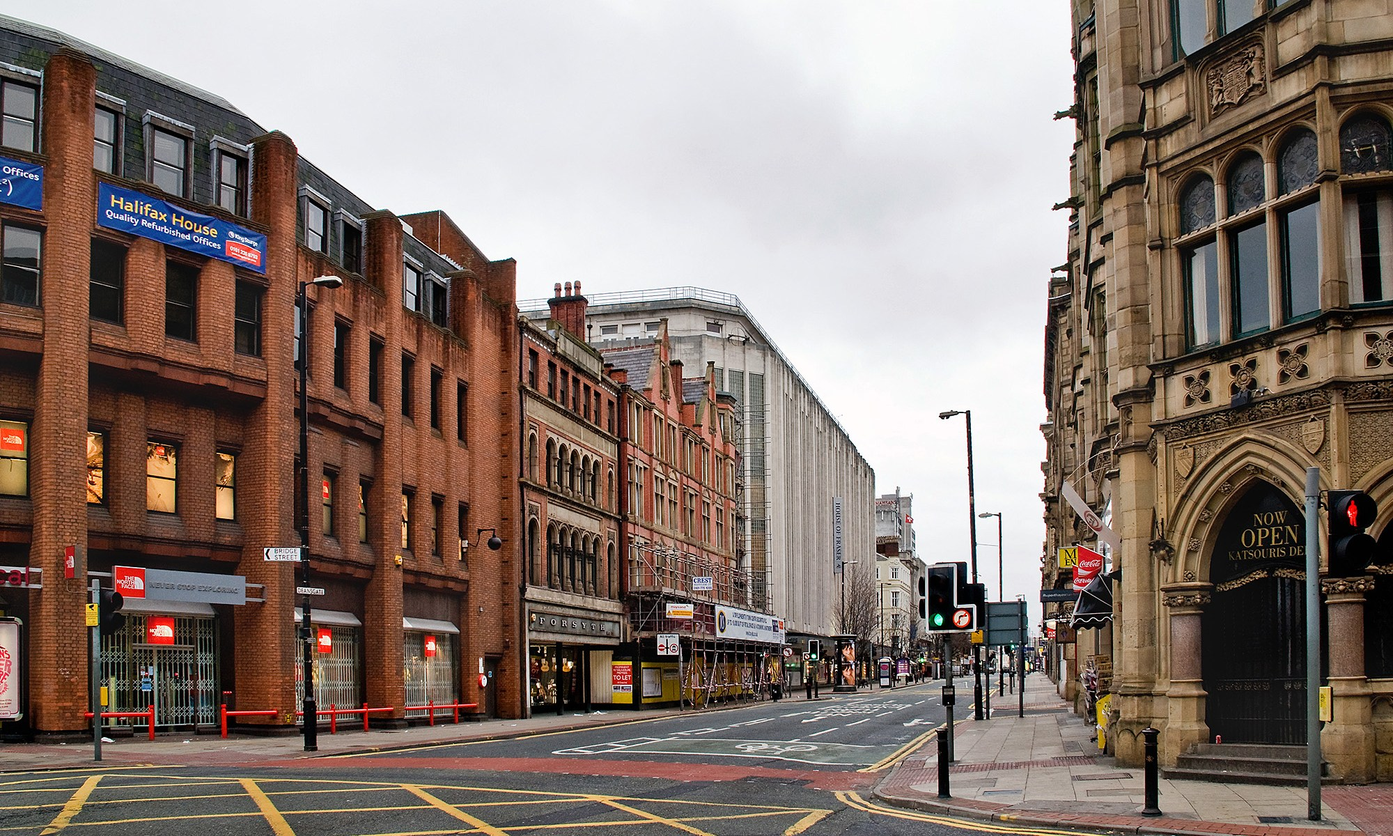 Deansgate towards Kendals, Manchester