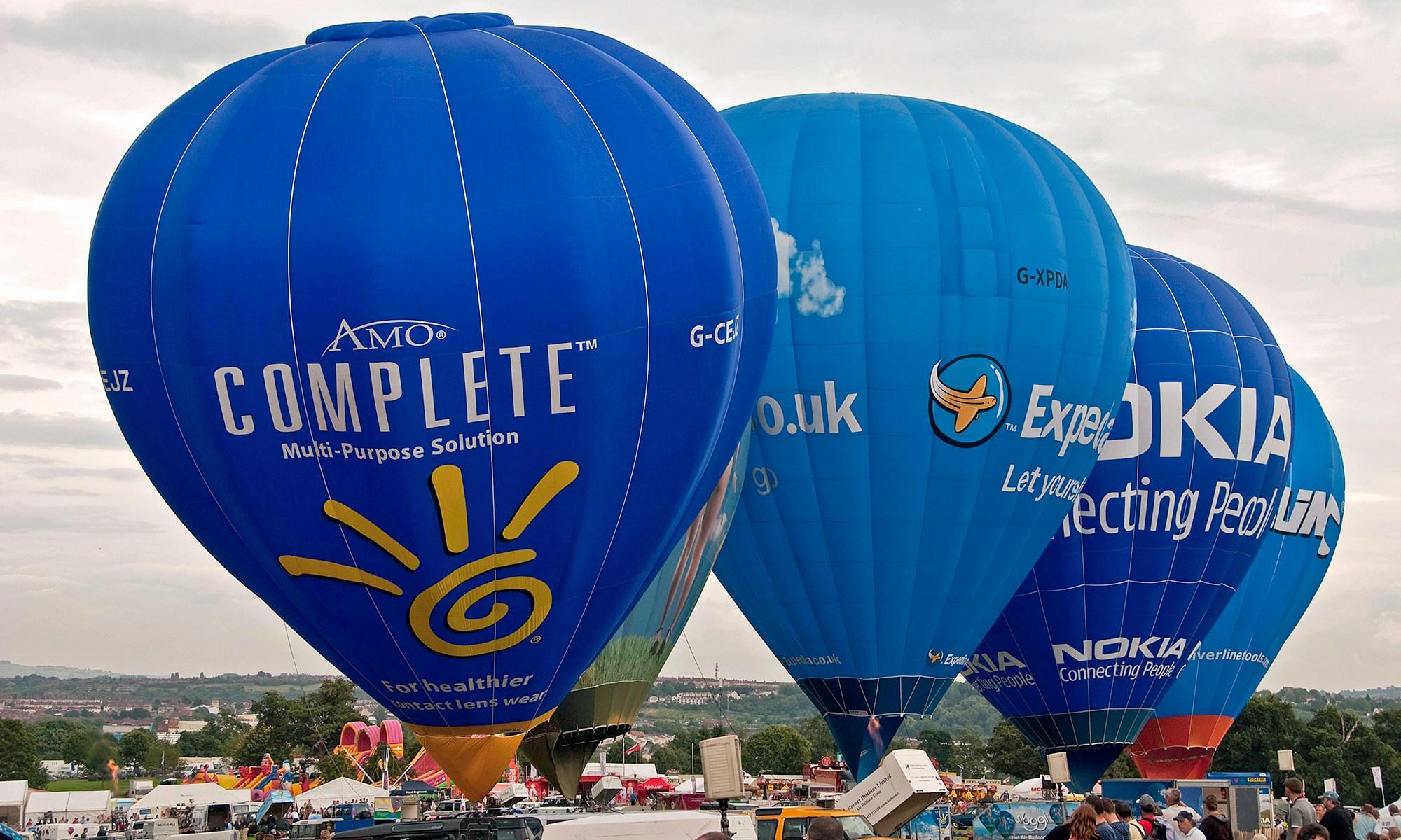 Balloon at Bristol Festival