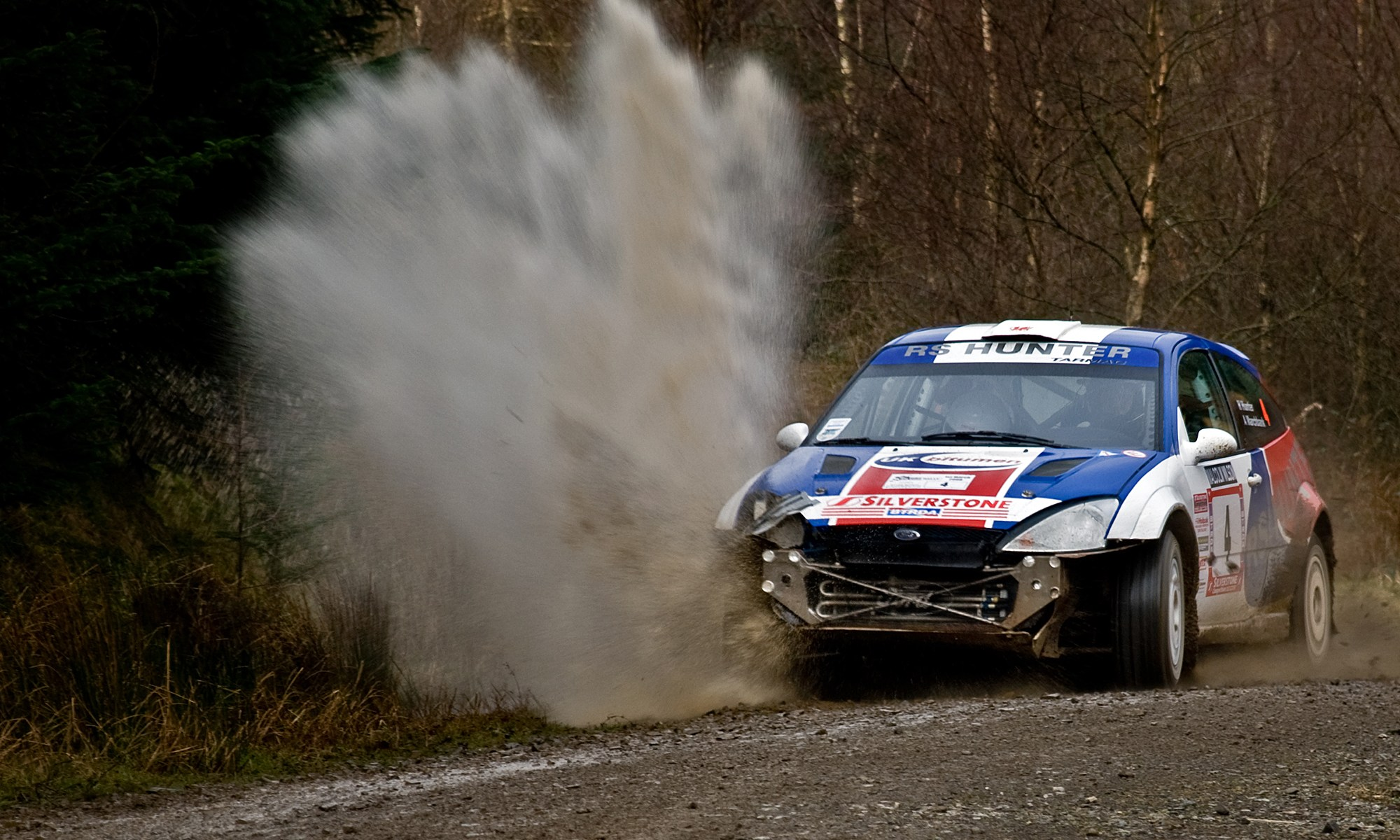 Ford Focus RS on Rally with Splash