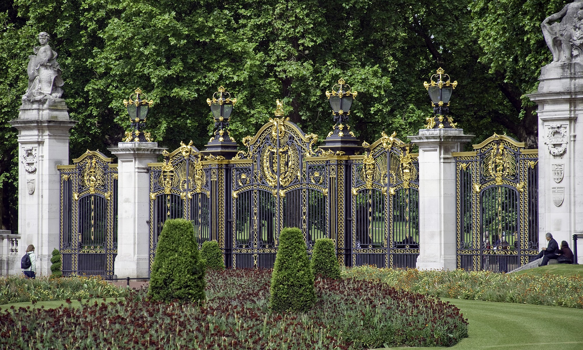 Canada Gate, Green Park, London