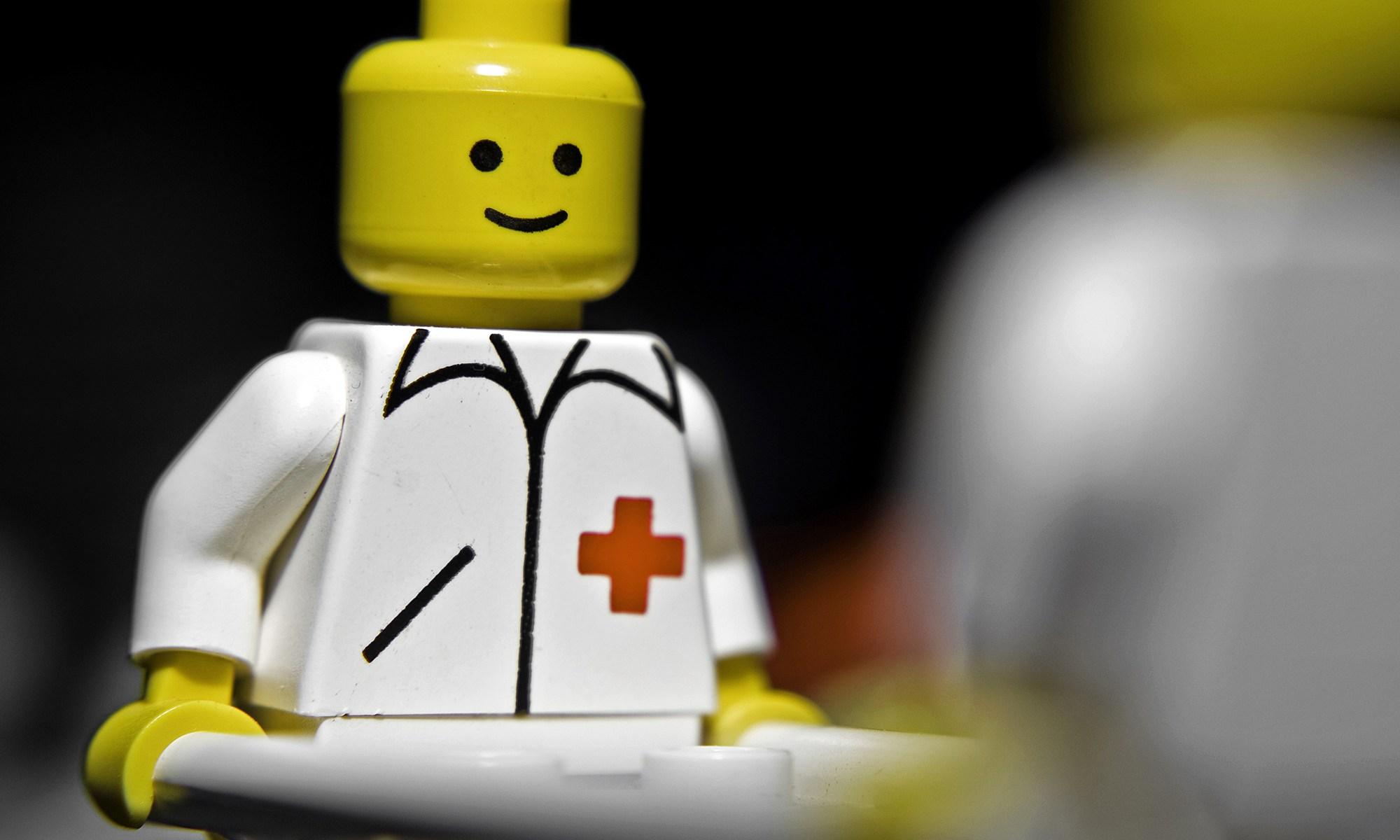 Lego Medical Man