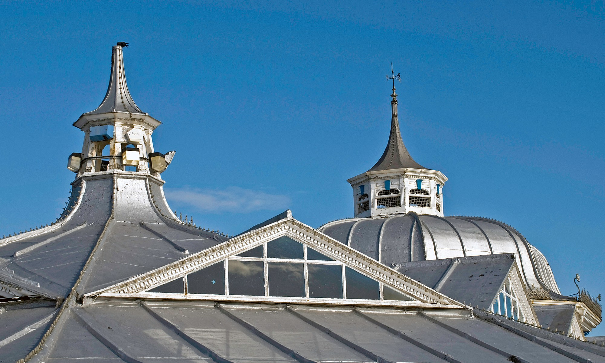 Llandudno Pier Roof Top Detail