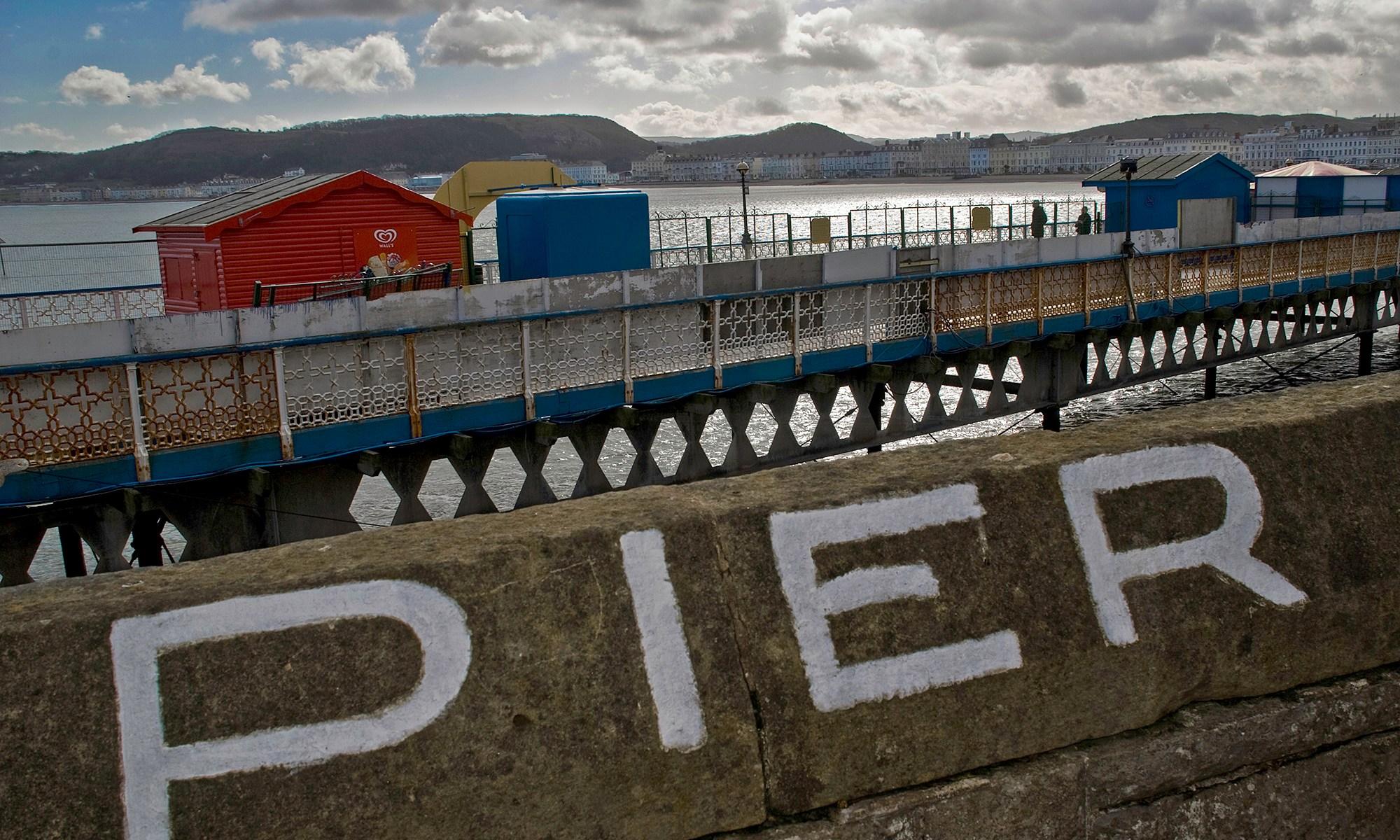 Llandudno Pier Wales