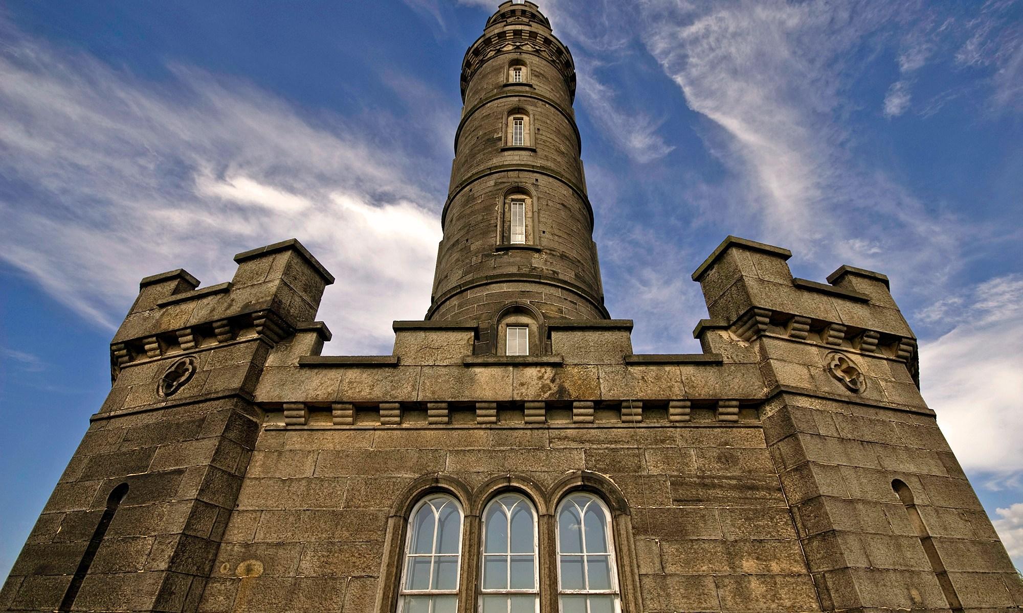 Nelson's Monument Close Up, Edinburgh
