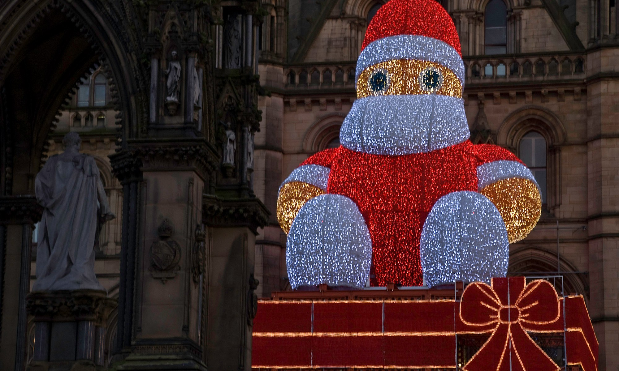Manchester's Father Christmas 2007