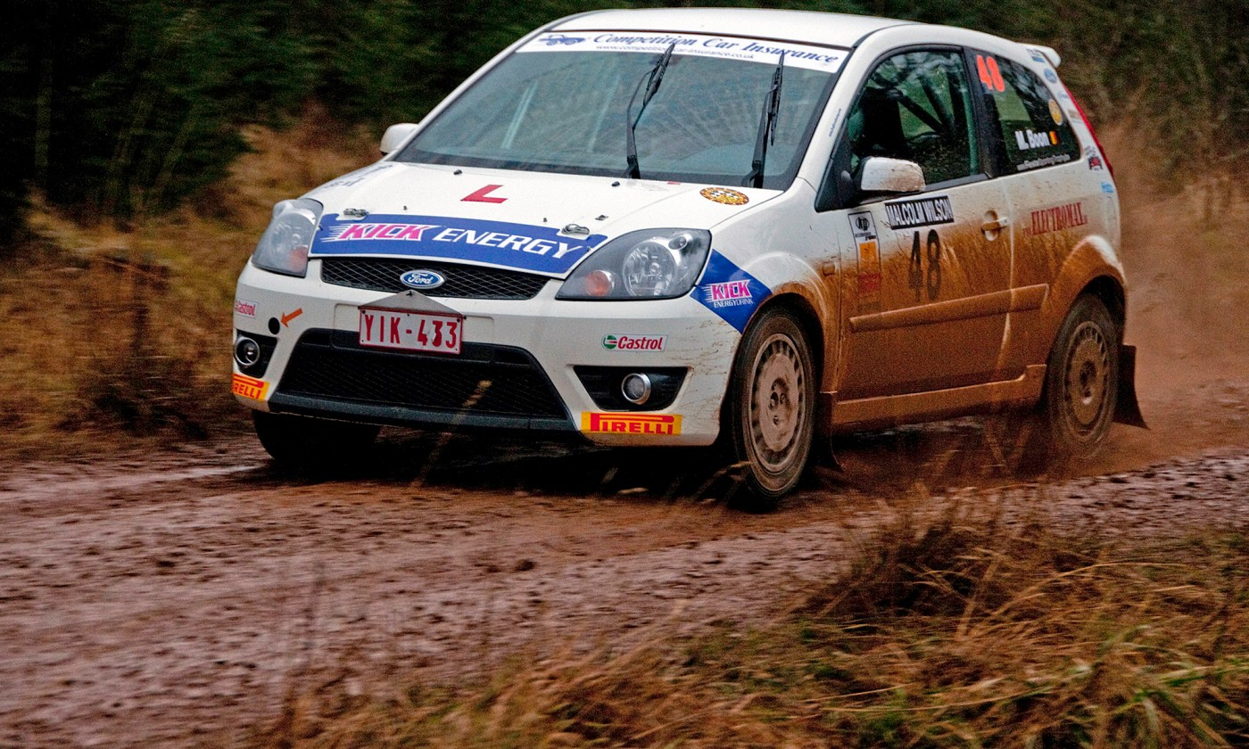 Matthias Boon Feista ST Rallying