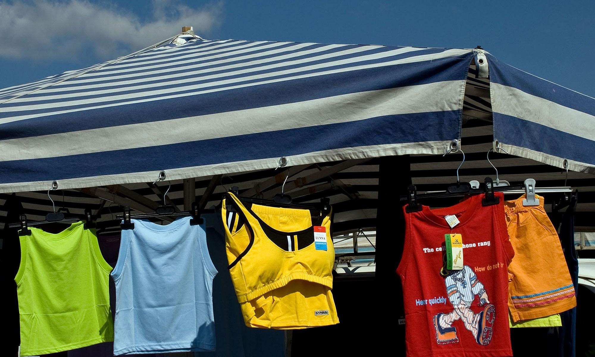Colourful Market Stall, Pula, Sardinia