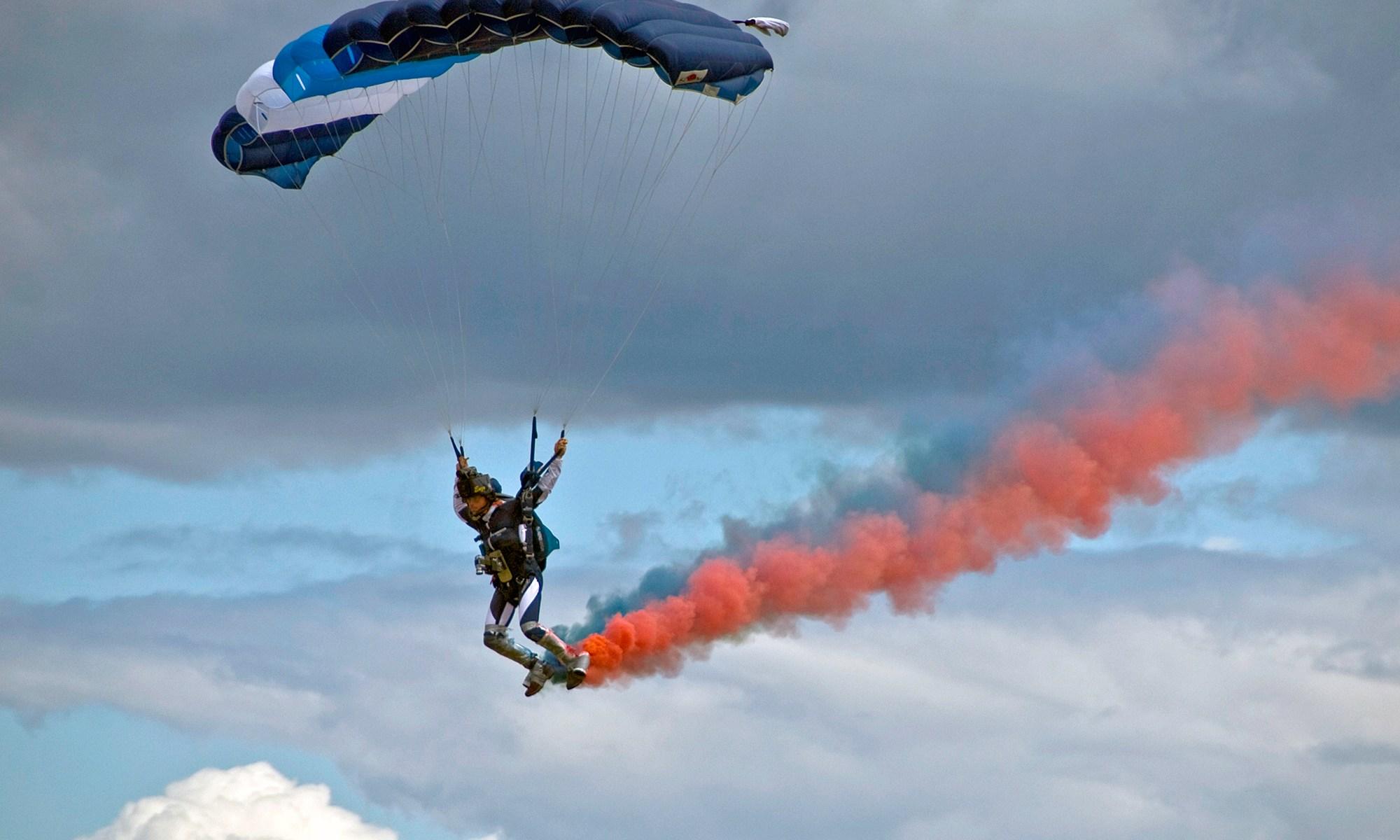 Red Devils RAF Parachutist
