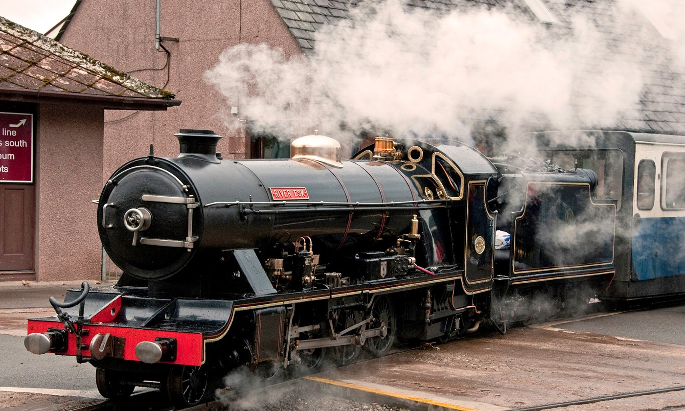 River Esk Locomotive in Steam