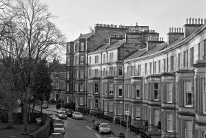 Georgian Houses of Rothesay Terrace, Edinburgh
