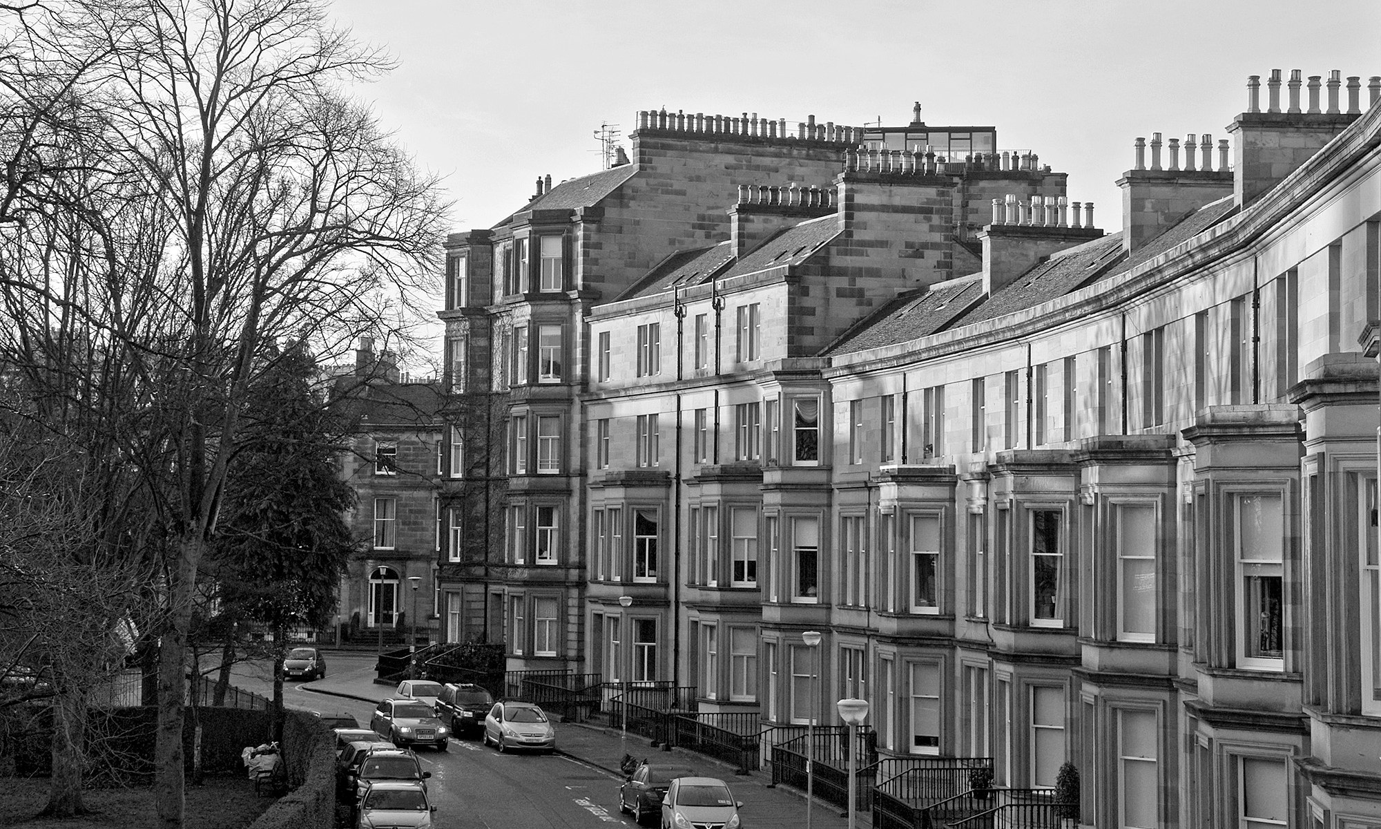 Georgian Houses of Rothesay Terrace, Edinburgh