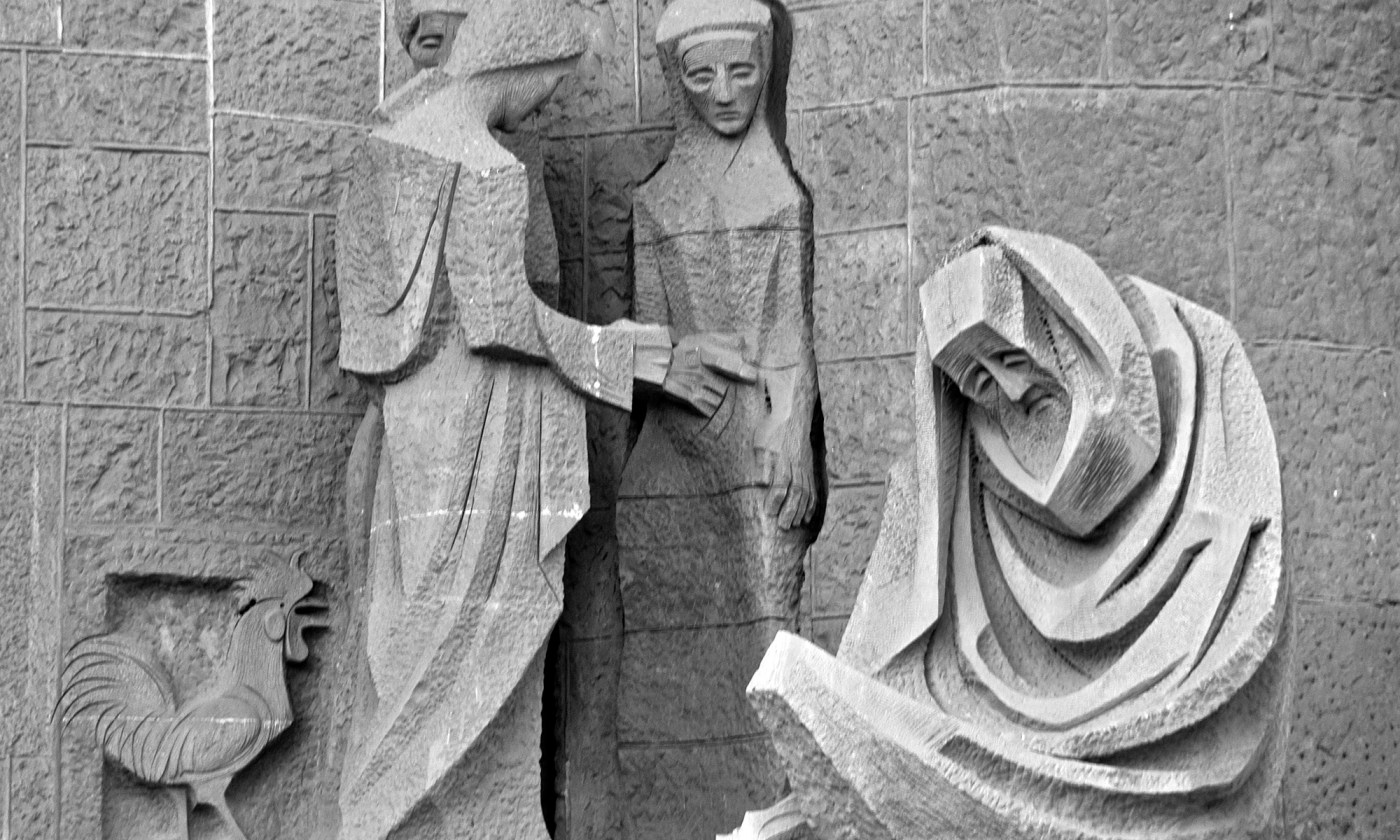 Sagrada Familia Cathedral Detail