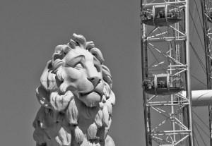 The South Bank Lion, London