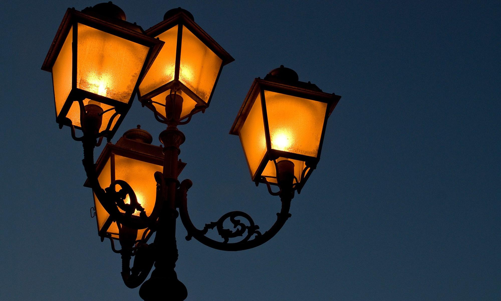 Street Lamp, Cagliari, Sardinia, Italy
