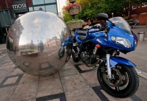 Suzuki SV650S Reflective Sphere
