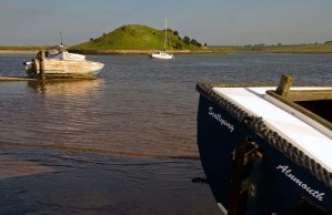 Three Boats at Alnmouth Harbour, Northumberland