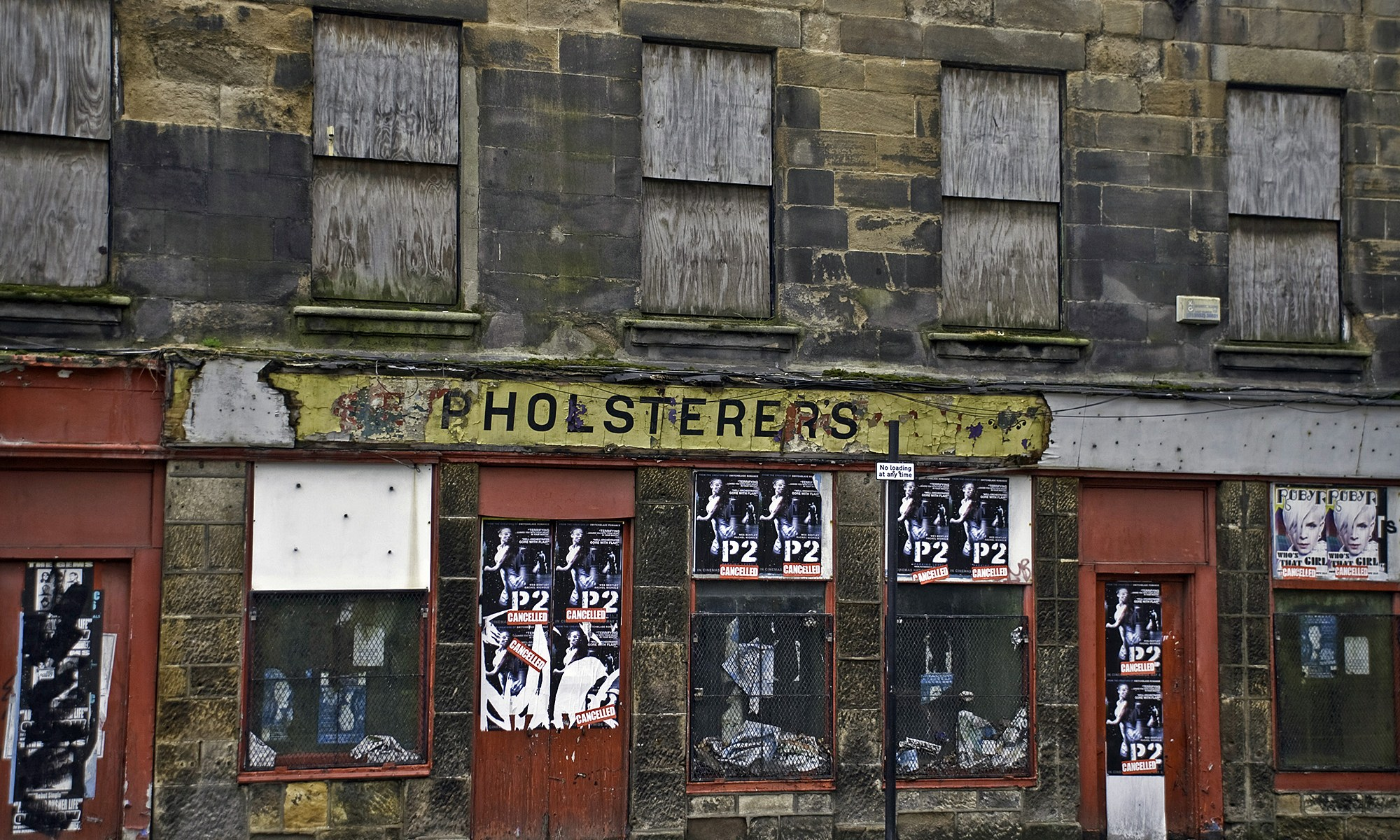 Urban Decay at Upholsterers - Glasgow