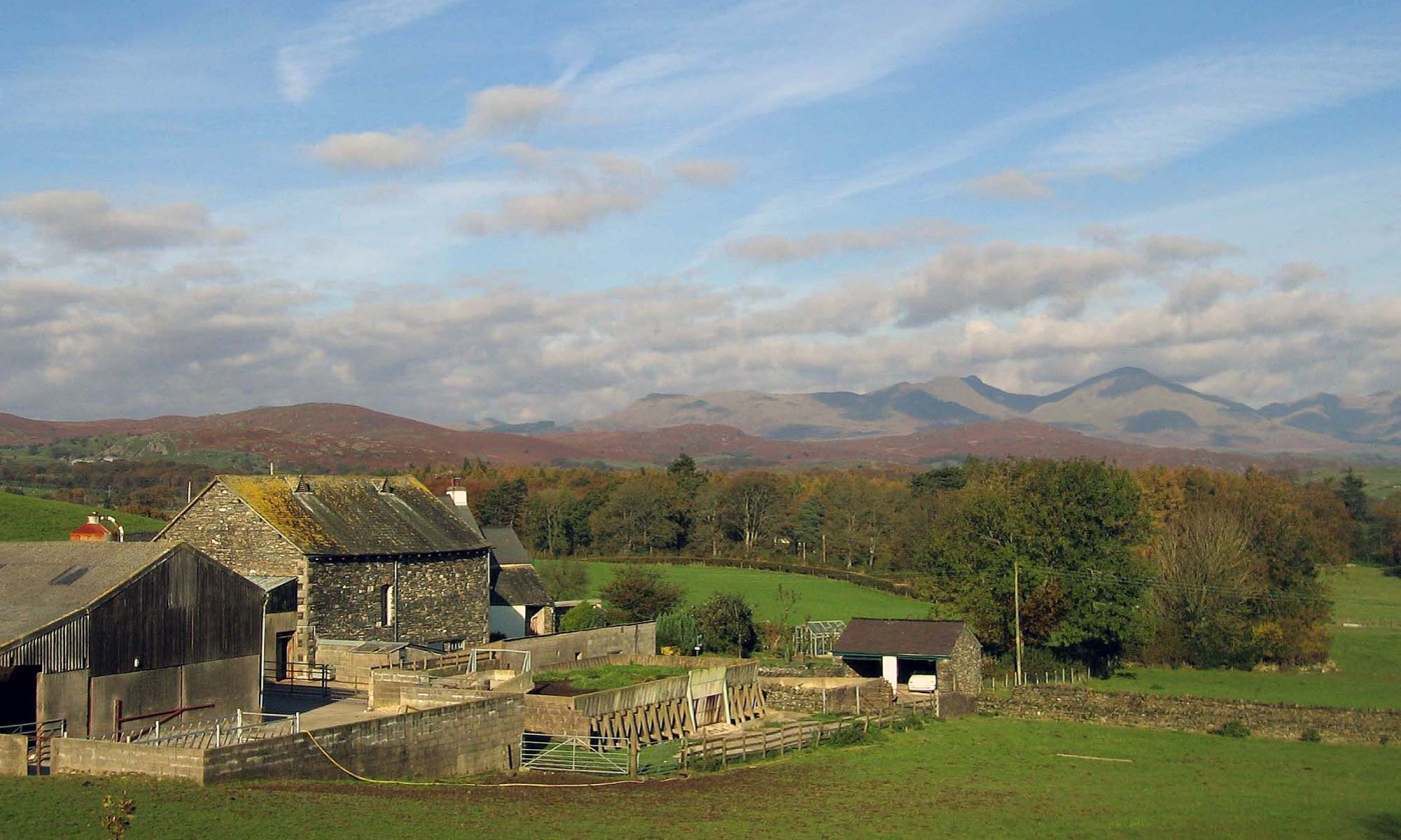 Farm near Coniston Water, Lake District