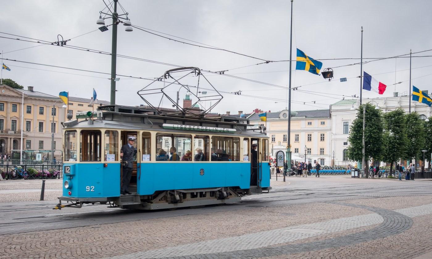 Liseberg line museum tram