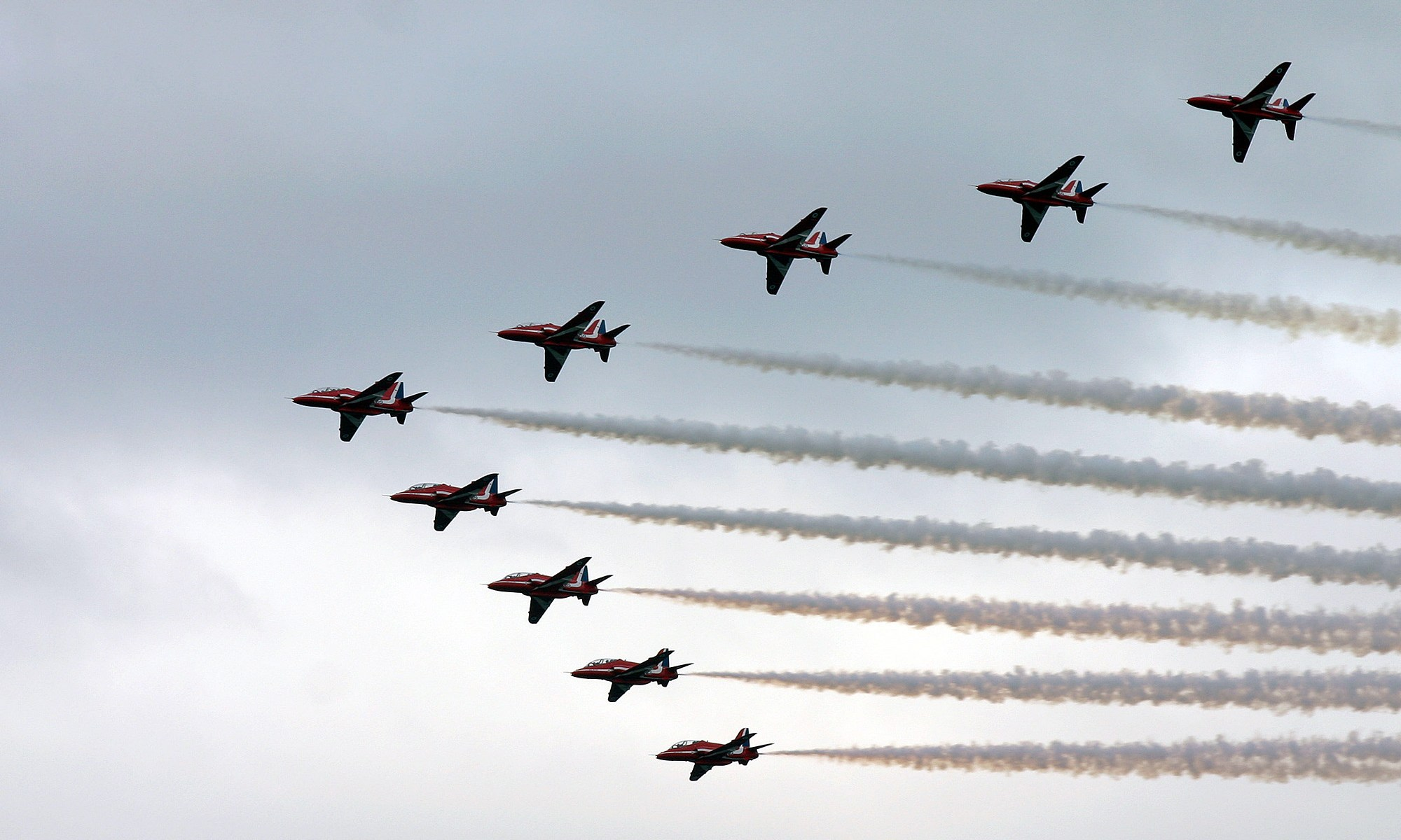 Red Arrows - Southport Air Show