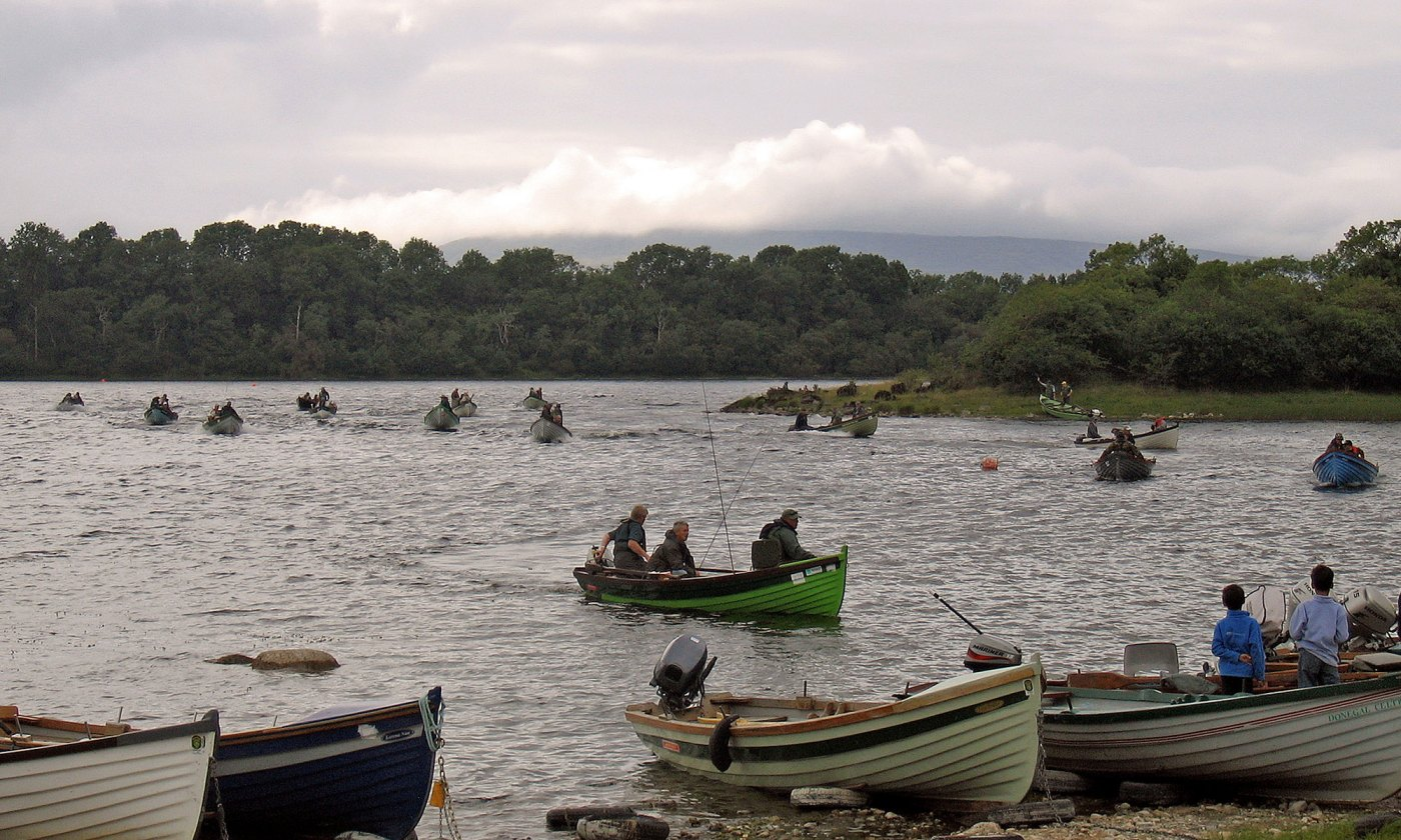 World Cup Fishing Boats on Lough Mask, Ireland