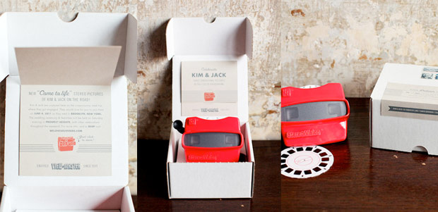Custom Viewmaster Invitations