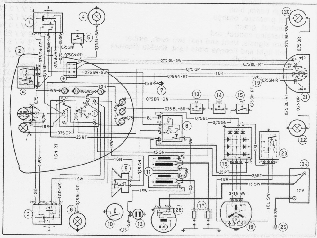 Diagram Bmw E15 Wiring Diagrams Dean Garner Diagram