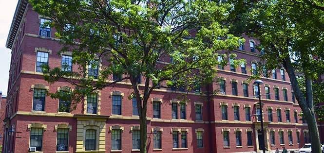 Thayer Hall, Image from harvard.edu