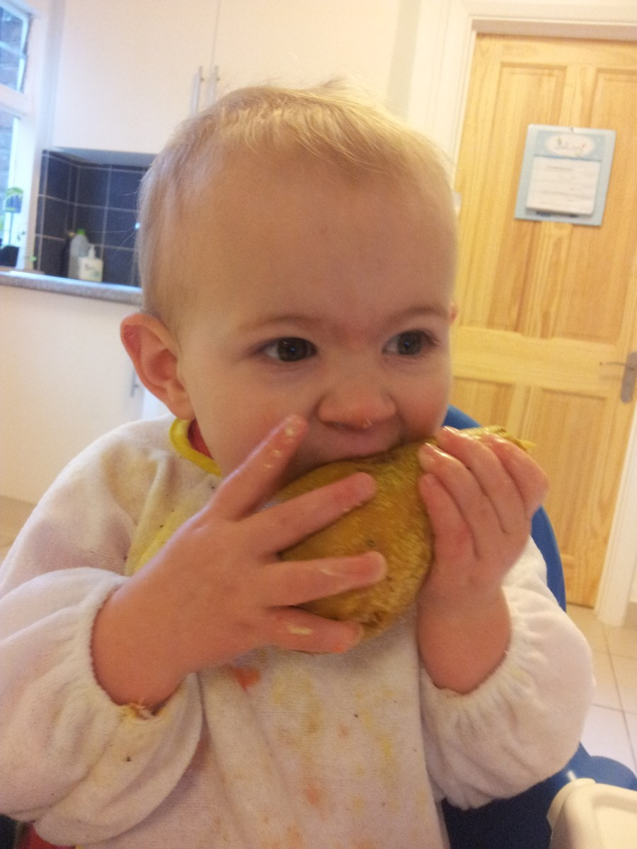 Baby led weaning: How to redecorate with Weetabix